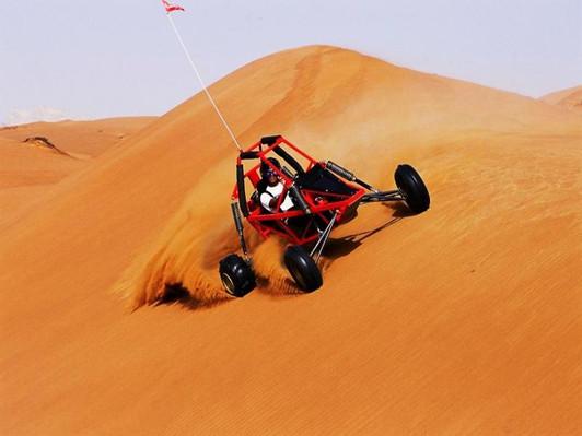 Dubai Dune Buggy Safari Experience