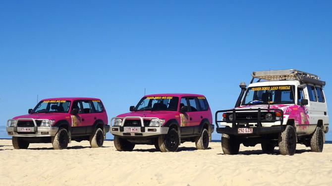 4WD tour fraser island