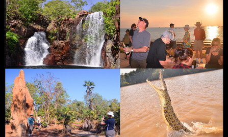Litchfield Park Jumping Crocodile Experience & Sunset Cruise