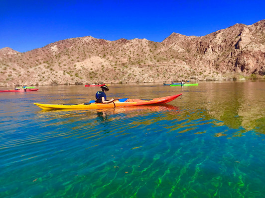 Colorado River kayak tour