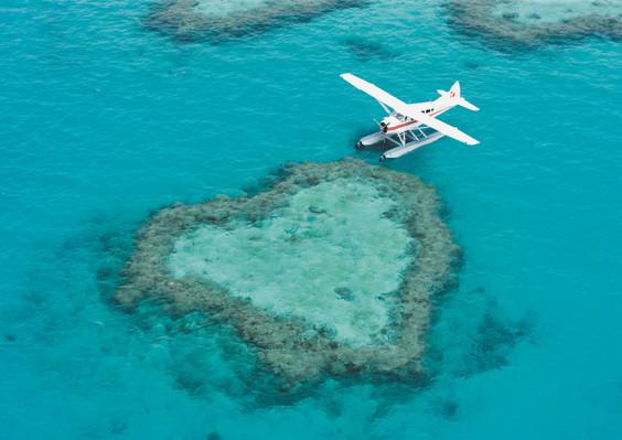 Heart Reef Seaplane Tour