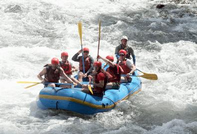 White Water Rafting at Tenorio River