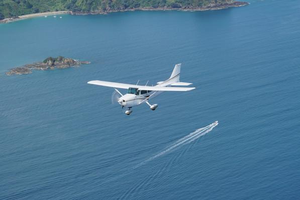 Waiheke Island Scenic Flight