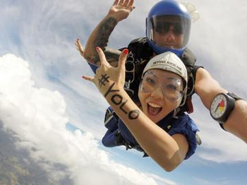 Auckland Tandem Skydive 20000ft, 16000ft, 13000ft, 9000ft
