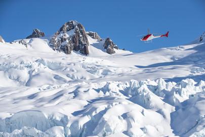 Twin Glacier Scenic Flight departs Franz Josef or Fox Glacier