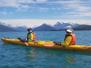 Glenorchy Island Safari Kayak Tour - departing Queenstown