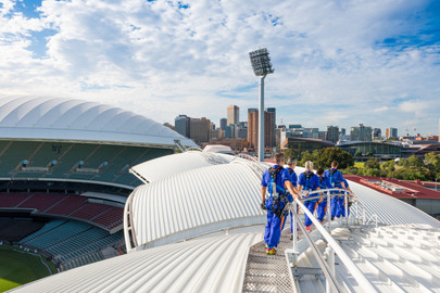 Adelaide Oval RoofClimb Day