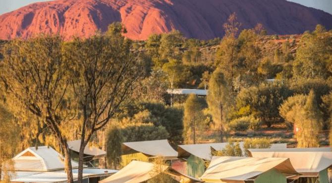 Uluru Tour with Tent Accommodation: 3 Days 2 Nights (Goanna Dreaming)