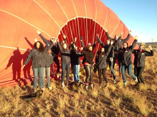 Alice Springs ballooning tour