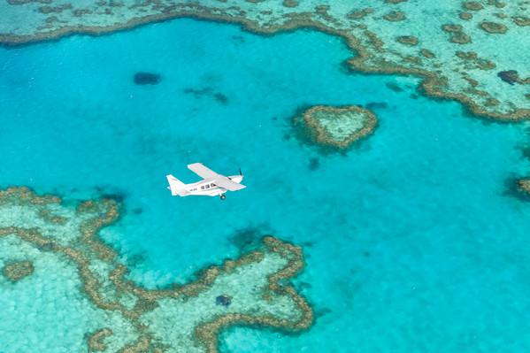 scenic flight qld