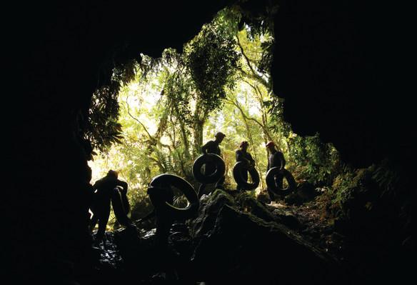 The Black Labyrinth - Black Water Rafting