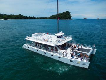 One Day Catamaran Tour in Manuel Antonio