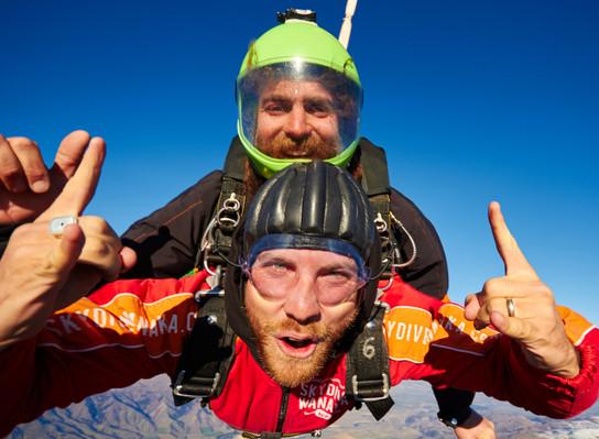 tandem skydive tour NZ