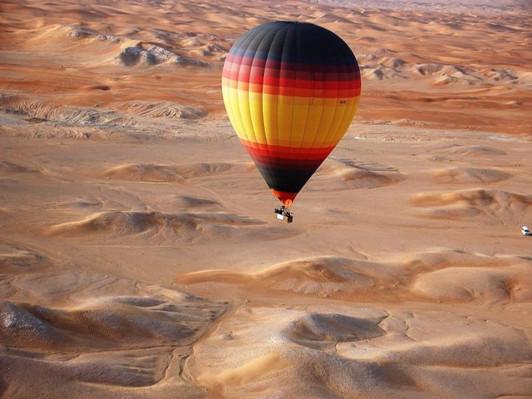 Dubai Hot Air Balloon Flight schedule