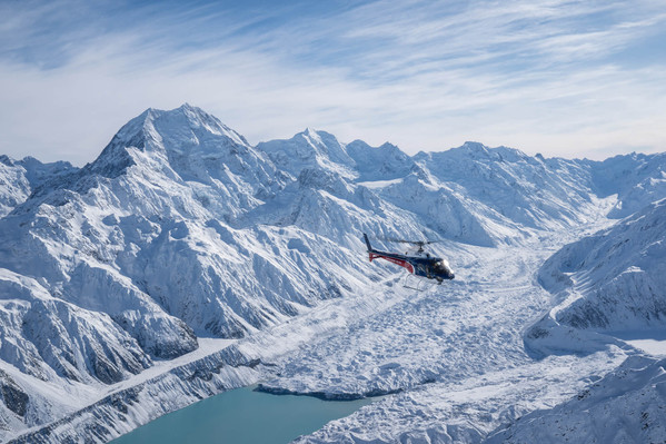 Mt Cook Scenic Helicopter with snow landing discount
