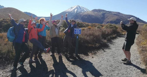 Tongariro Alpine Crossing: Turangi Round Trip with Shuttles & Transfer
