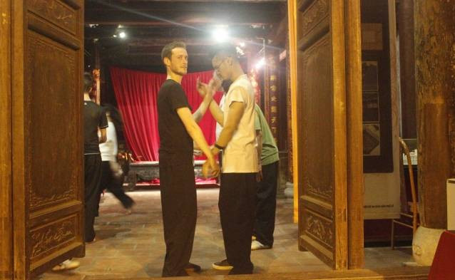 Vietnam kung fu class tours