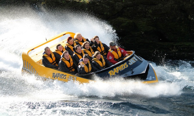Rapids Jet Boat