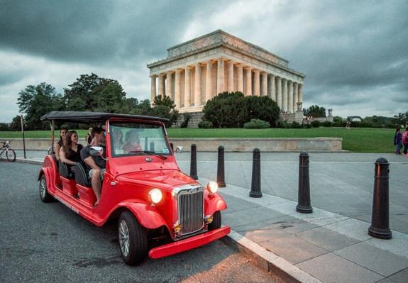 Washington DC tour By Night