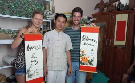 Vietnamese Watercolour Painting Class