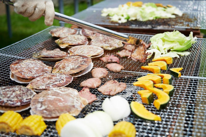 Traditional Kyoto BBQ with Option to Harvest Fruits and Vegetables