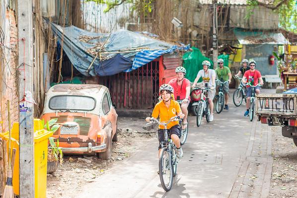 Go Red - Bangkok Bike Culture Tour