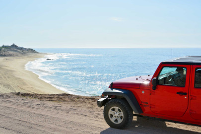 4WD Jeep Ride - National Park of Cabo Pulmo