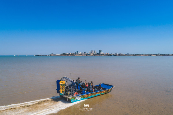 Northern Territory Airboat tour