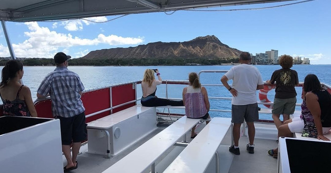 Waikiki glass bottom Boat cruise
