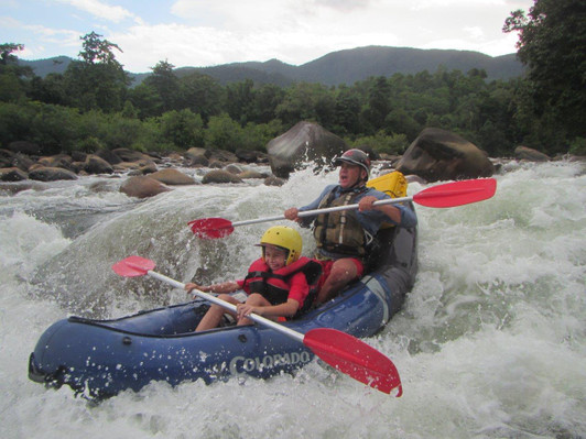 Tully River White Water Rafting - Mission Beach Queensland