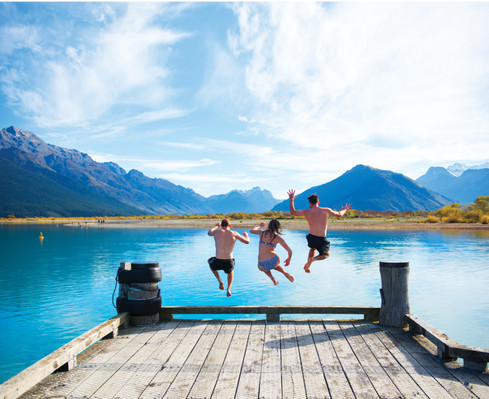 New Zealand South Island road trips