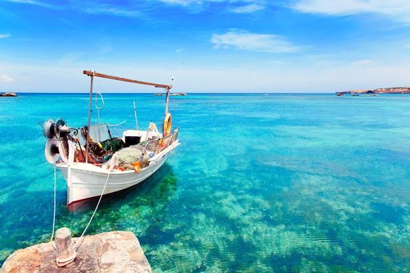 Ibiza beach camping
