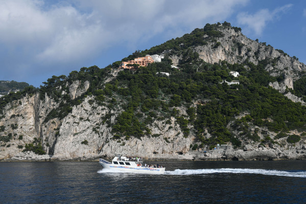 Blue grotto and Capri