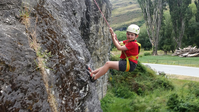 rock climbing wanaka fun