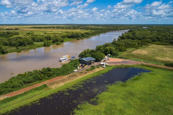 Spectacular Jumping Crocodile Cruise Drone - copyright.jpg