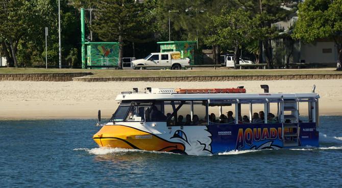 Gold Coast Aquaduck River Cruise