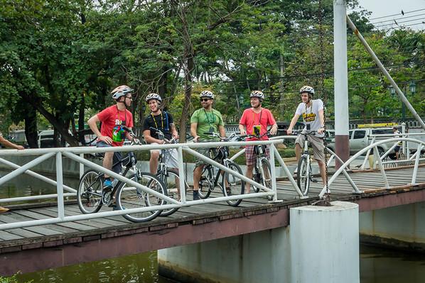 Bangkok bicycle tour voucher