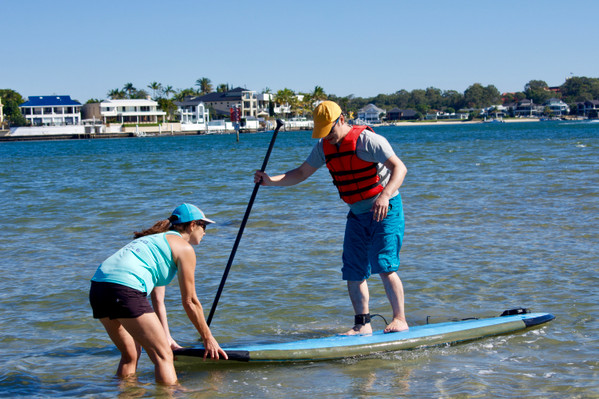 Learn to SUP Gold Coast