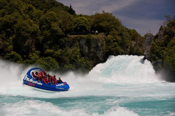 hukafalls jet boat spin