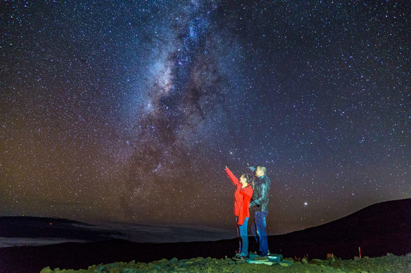 Twilight Volcano and Stargazing Tour