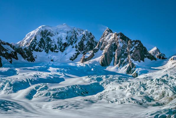 Mt. Cook Glaciers