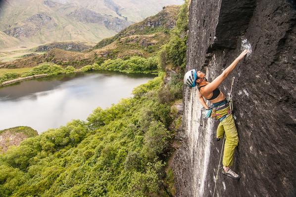 new zealand rock climbing wanaka