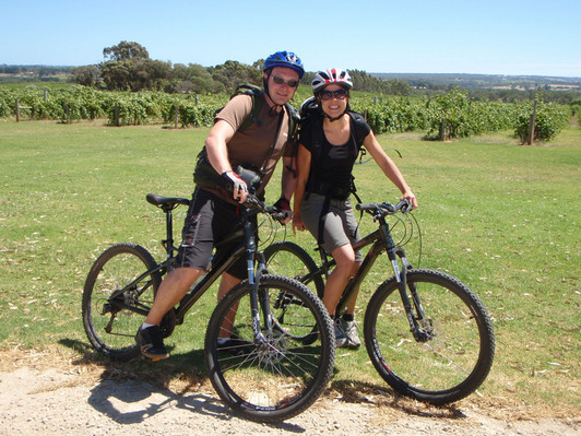 Hills, Vines and Wines by mountain bike discount