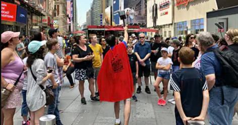 Super Tour of NYC: Heroes & Comics!