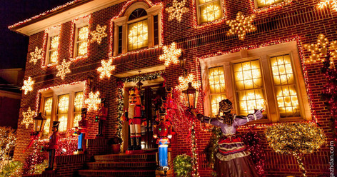 Christmas Lights Tour Of Dyker Heights