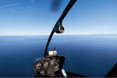 Kaikoura helicopter whale watching flight