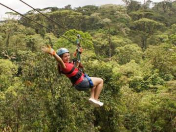 San José de la Montaña Canopy Adventure