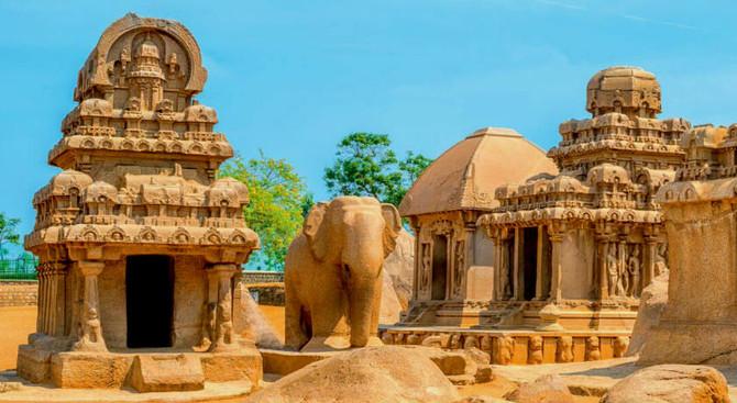 Mahabalipuram - South & North India Tour