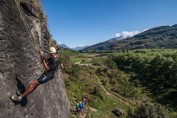best rock climbing wanaka tour