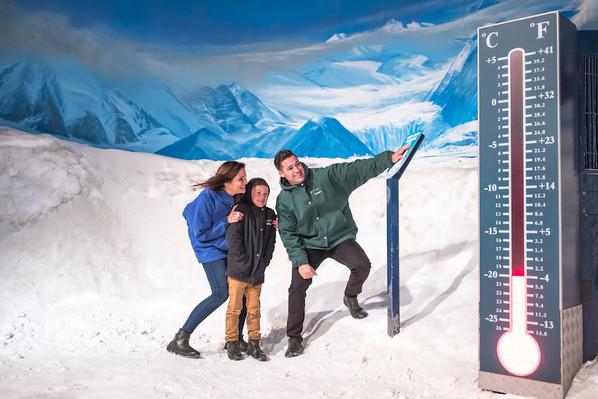 International antarctic centre tour